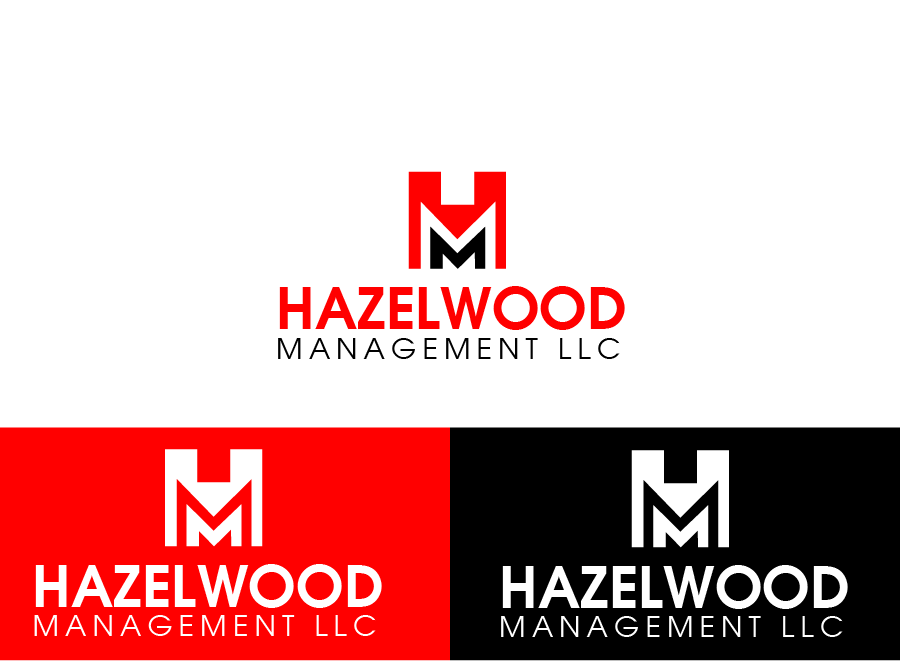 Logo Design by Private User - Entry No. 12 in the Logo Design Contest Hazelwood Management LLC Logo Design.