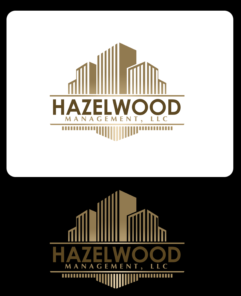 Logo Design by Private User - Entry No. 14 in the Logo Design Contest Hazelwood Management LLC Logo Design.