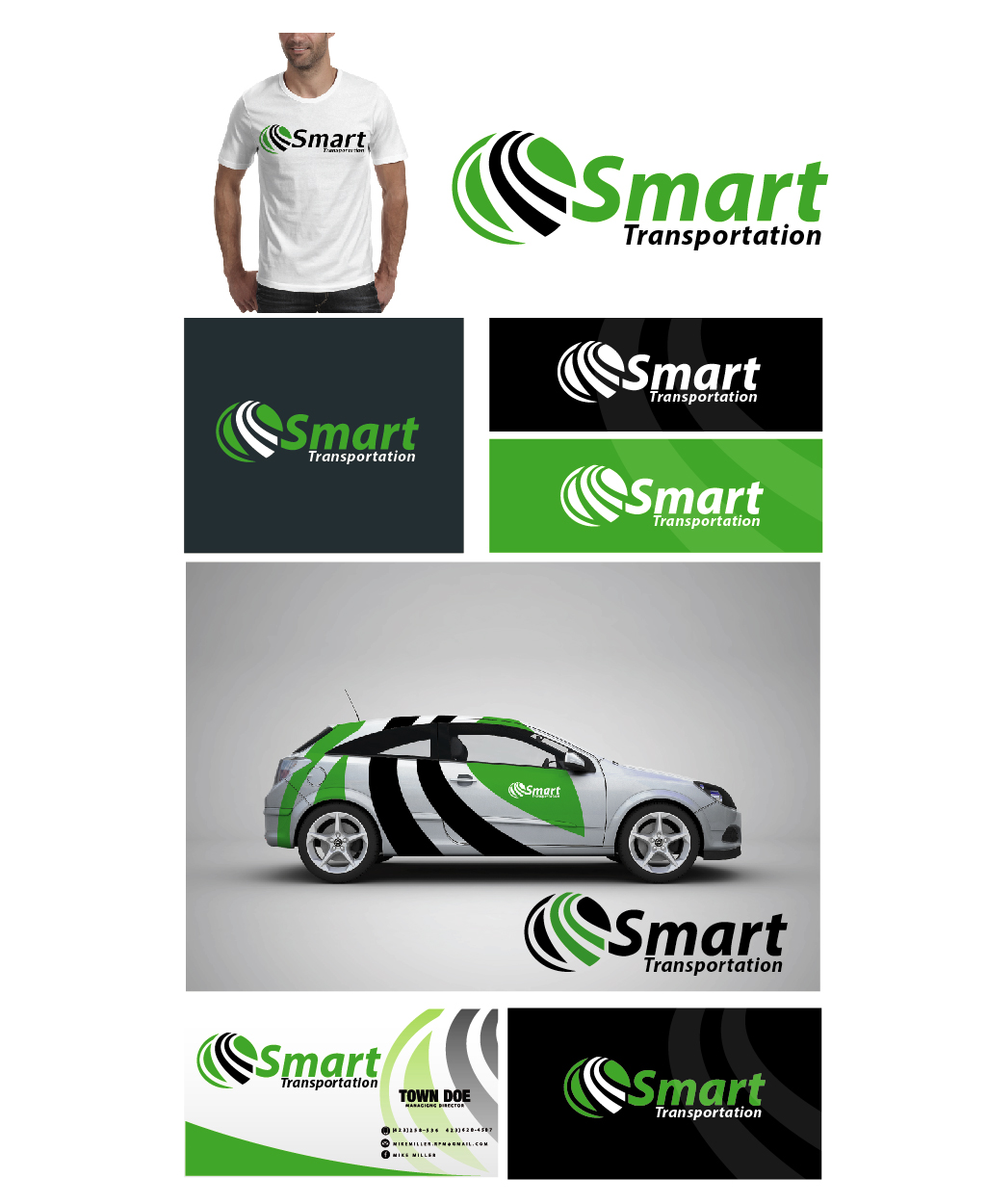 Logo Design by VENTSISLAV KOVACHEV - Entry No. 189 in the Logo Design Contest Imaginative Logo Design for Smart Transportation.