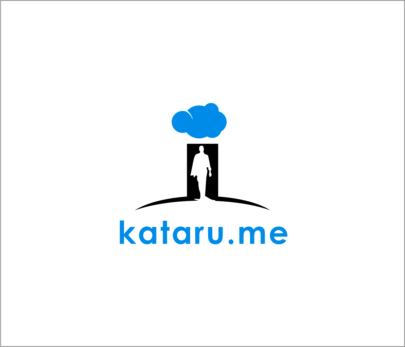 Logo Design by Armada Jamaluddin - Entry No. 23 in the Logo Design Contest Inspiring Logo Design for KATARU.ME.