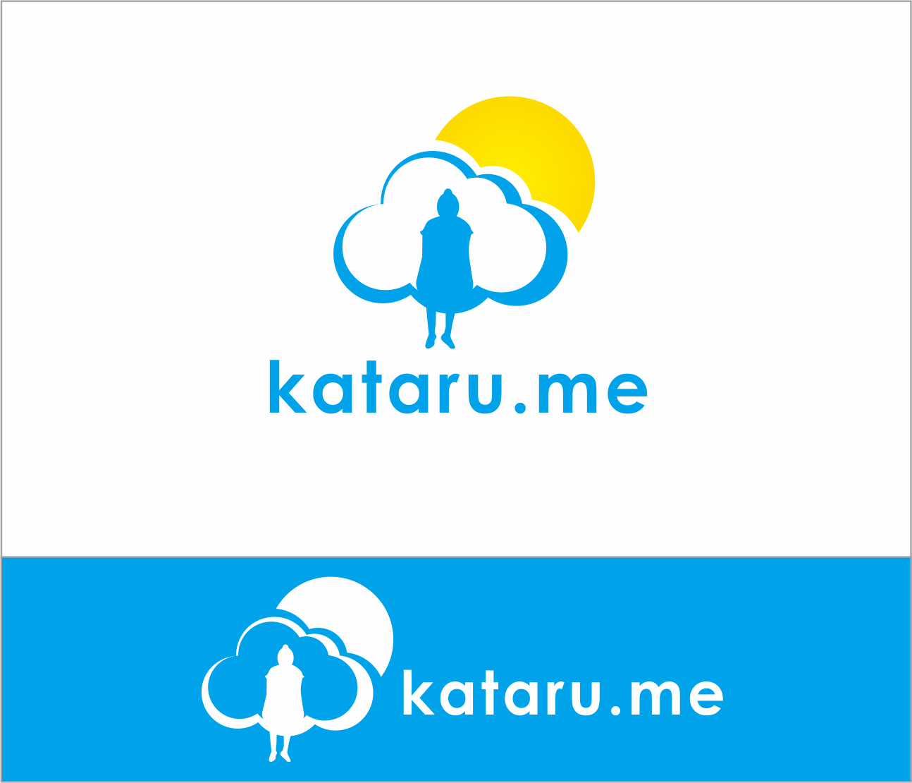 Logo Design by Armada Jamaluddin - Entry No. 25 in the Logo Design Contest Inspiring Logo Design for KATARU.ME.
