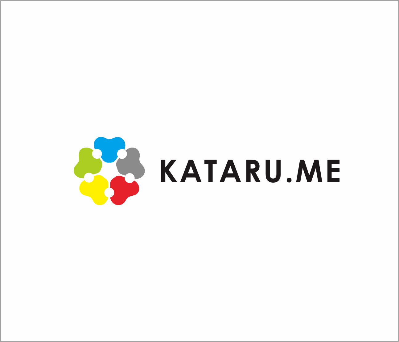 Logo Design by Armada Jamaluddin - Entry No. 26 in the Logo Design Contest Inspiring Logo Design for KATARU.ME.