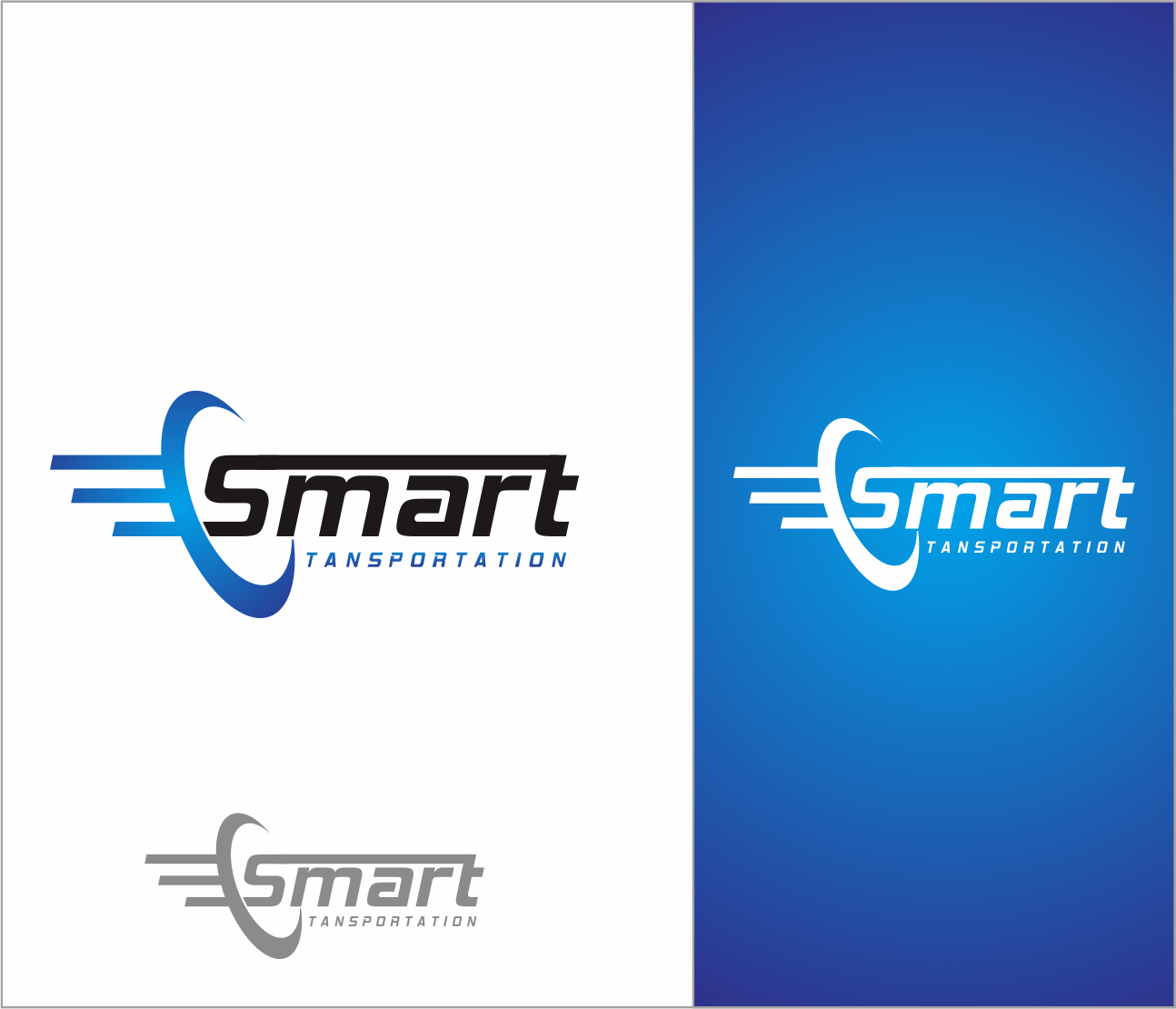 Logo Design by Armada Jamaluddin - Entry No. 207 in the Logo Design Contest Imaginative Logo Design for Smart Transportation.