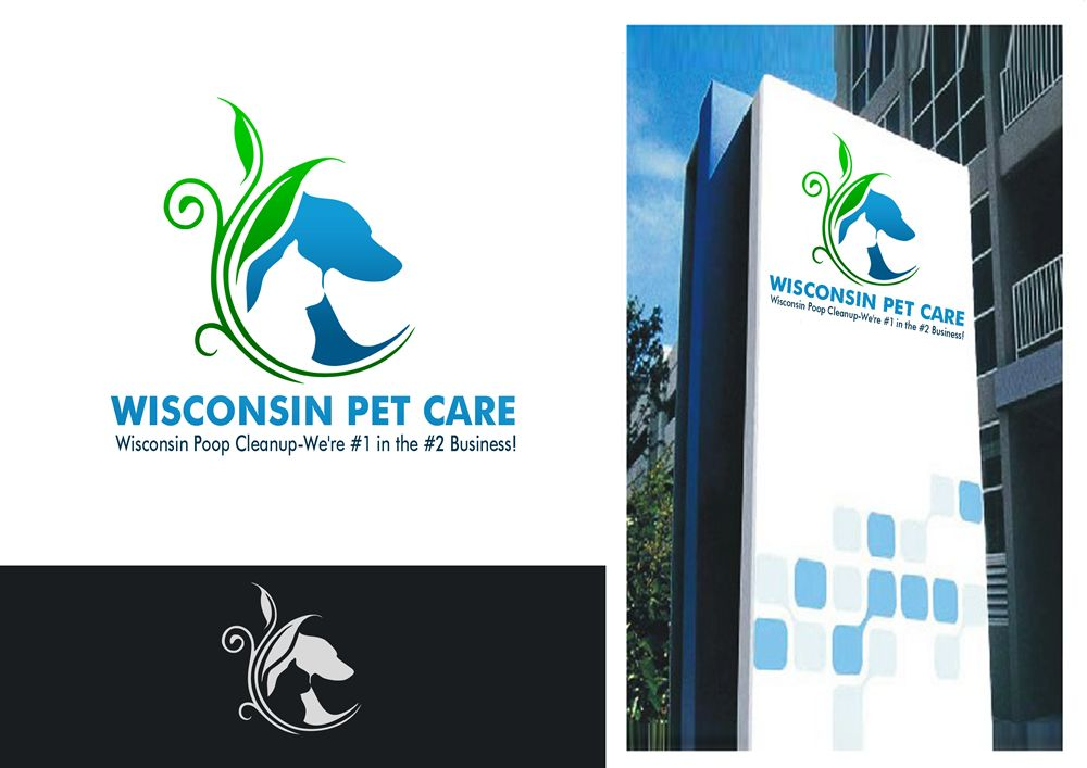 Logo Design by Respati Himawan - Entry No. 10 in the Logo Design Contest Captivating Logo Design for Wisconsin Pet Care.