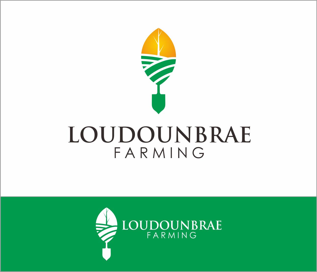 Logo Design by Armada Jamaluddin - Entry No. 69 in the Logo Design Contest Creative Logo Design for Loudounbrae Farming.