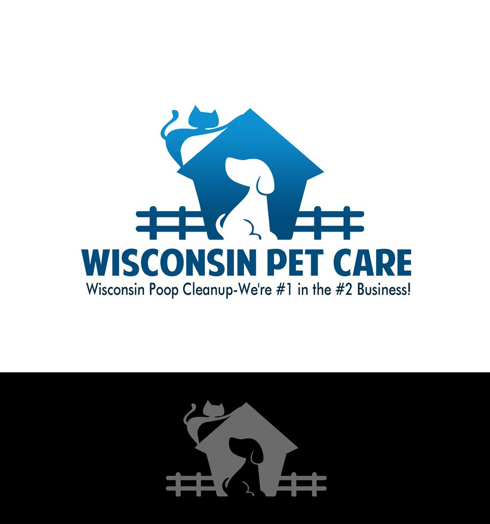 Logo Design by Respati Himawan - Entry No. 11 in the Logo Design Contest Captivating Logo Design for Wisconsin Pet Care.