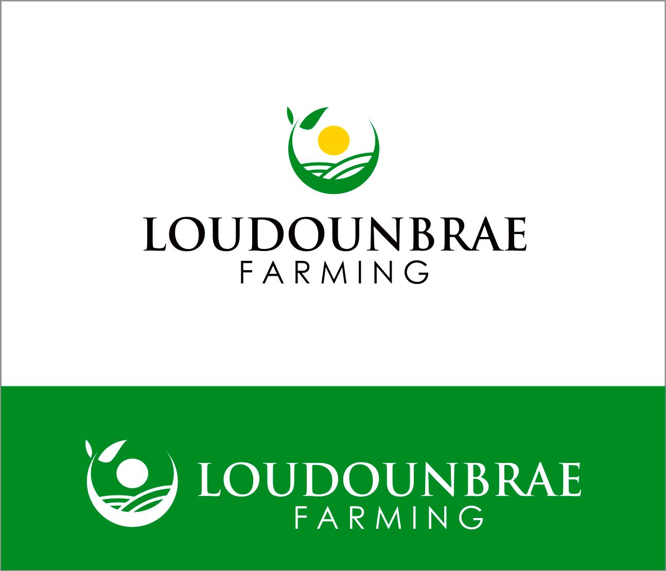 Logo Design by Armada Jamaluddin - Entry No. 71 in the Logo Design Contest Creative Logo Design for Loudounbrae Farming.