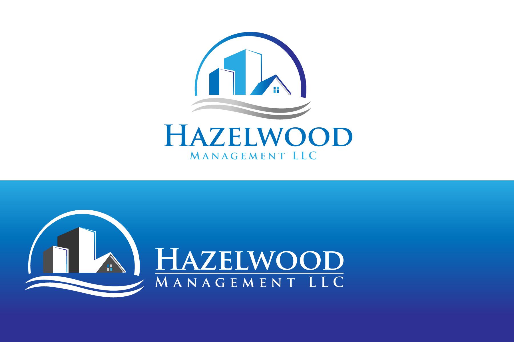 Logo Design by Jagdeep Singh - Entry No. 20 in the Logo Design Contest Hazelwood Management LLC Logo Design.