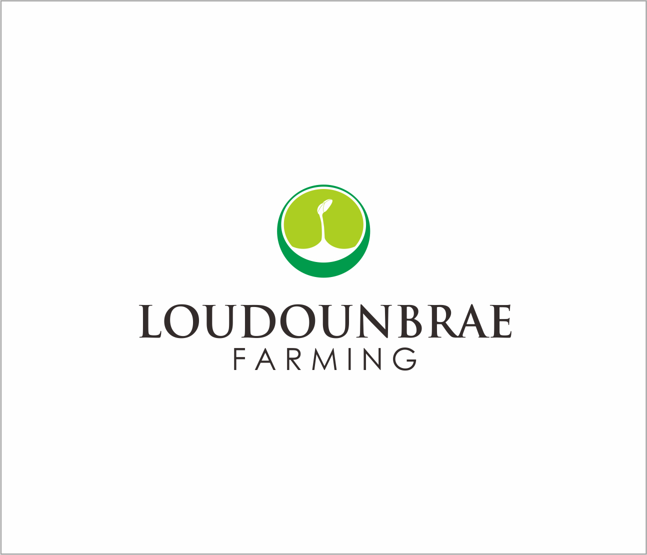 Logo Design by Armada Jamaluddin - Entry No. 72 in the Logo Design Contest Creative Logo Design for Loudounbrae Farming.