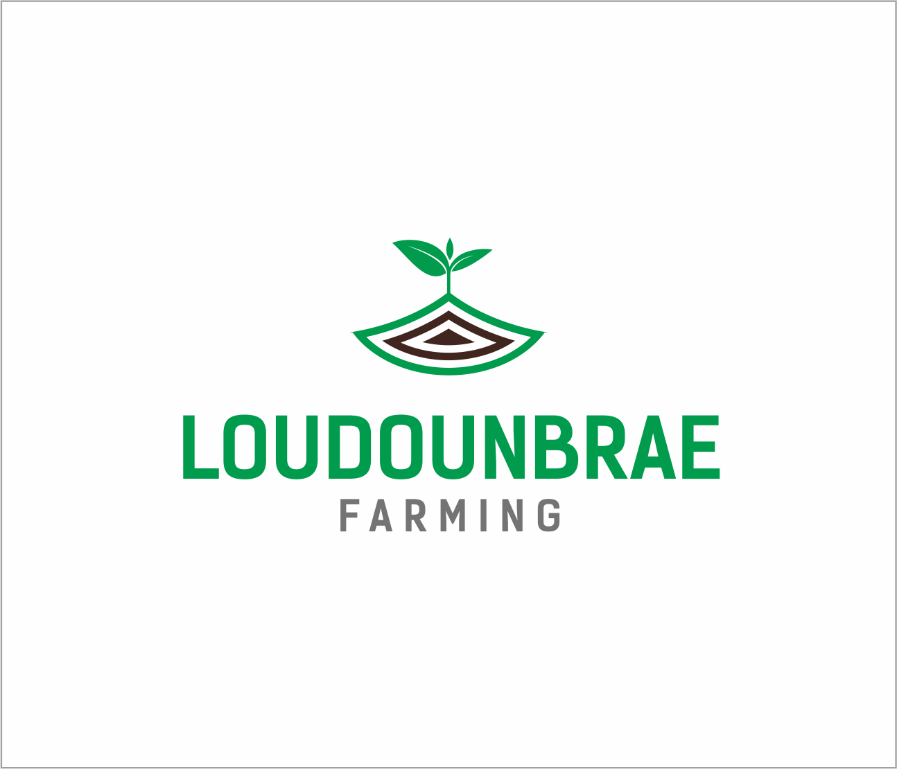 Logo Design by Armada Jamaluddin - Entry No. 73 in the Logo Design Contest Creative Logo Design for Loudounbrae Farming.