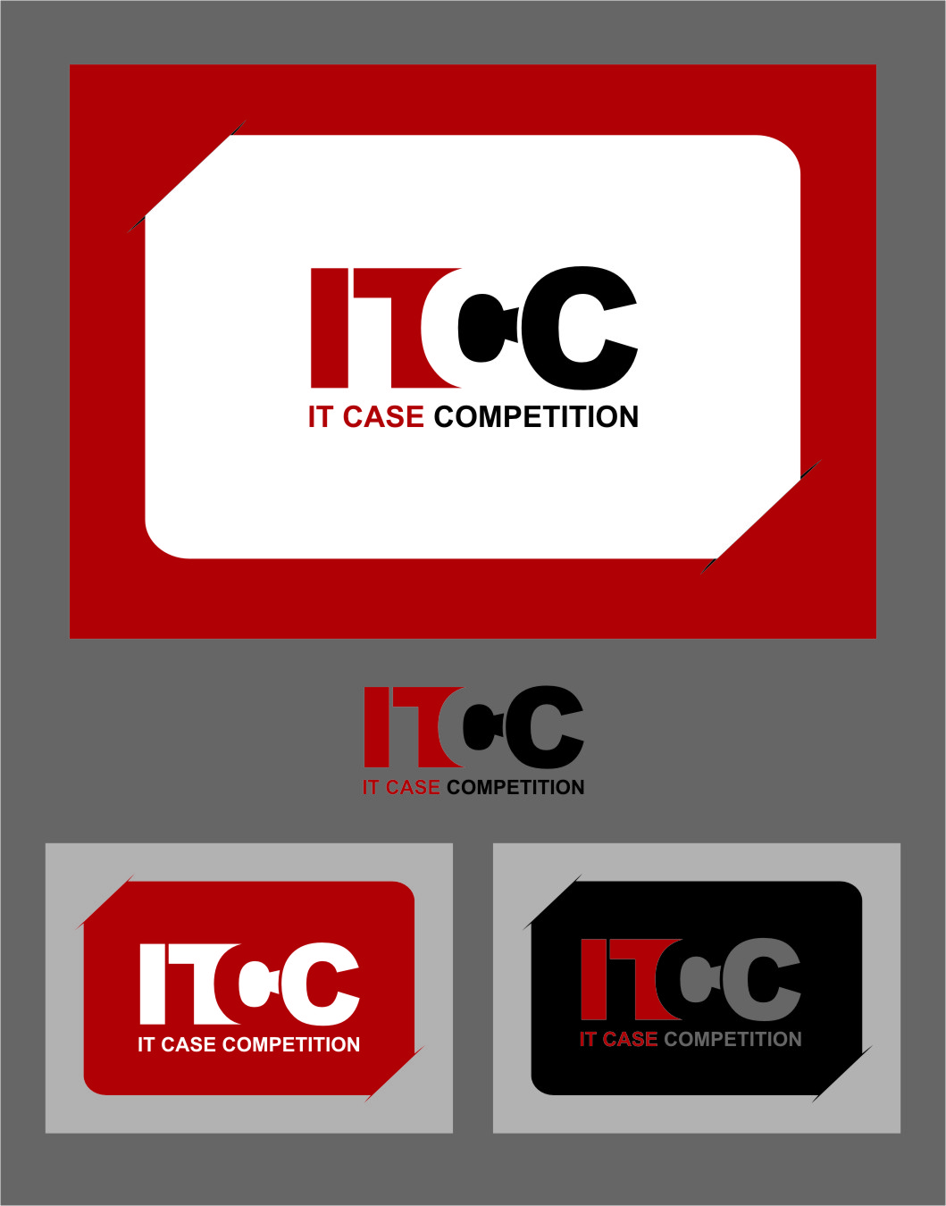 Logo Design by RasYa Muhammad Athaya - Entry No. 57 in the Logo Design Contest Inspiring Logo Design for ITCC.
