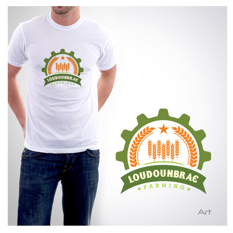 Logo Design by Puspita Wahyuni - Entry No. 74 in the Logo Design Contest Creative Logo Design for Loudounbrae Farming.
