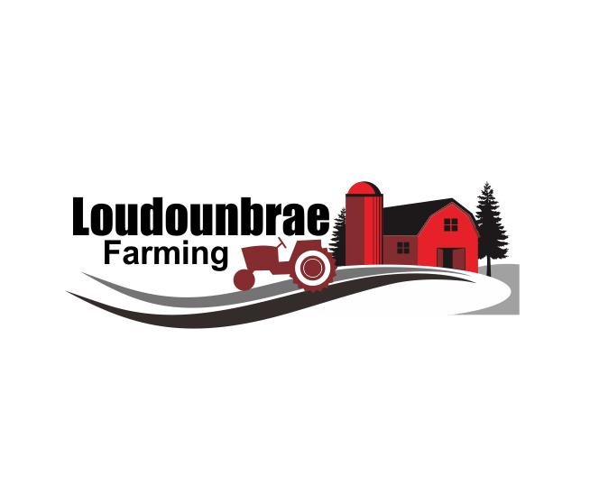 Logo Design by ronny - Entry No. 75 in the Logo Design Contest Creative Logo Design for Loudounbrae Farming.