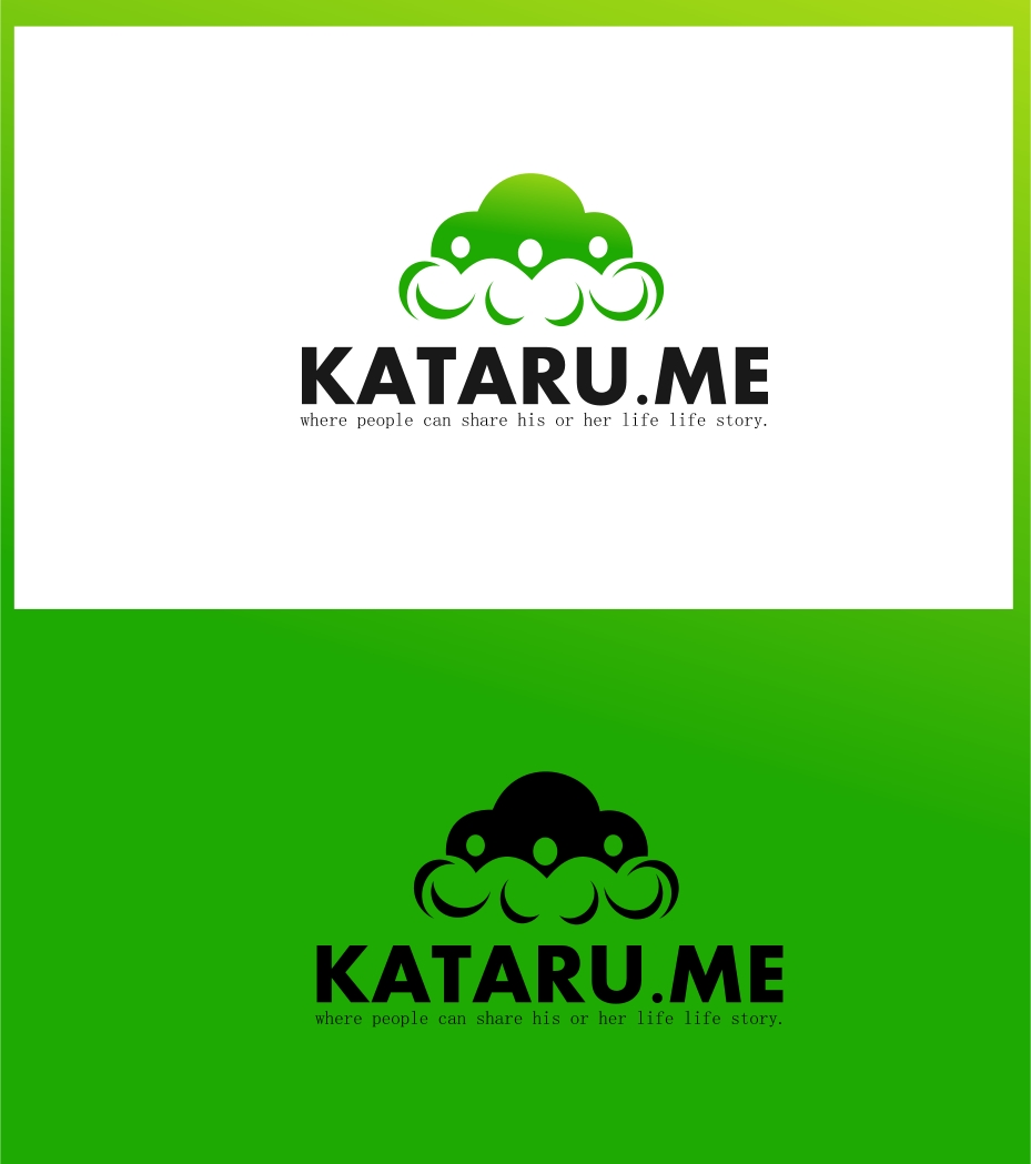 Logo Design by Private User - Entry No. 32 in the Logo Design Contest Inspiring Logo Design for KATARU.ME.