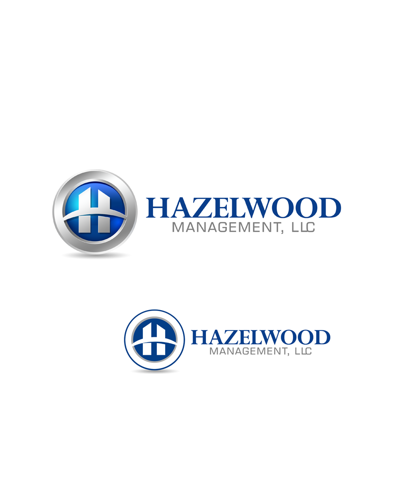 Logo Design by Private User - Entry No. 24 in the Logo Design Contest Hazelwood Management LLC Logo Design.