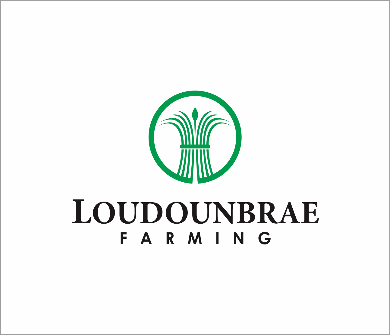 Logo Design by Armada Jamaluddin - Entry No. 80 in the Logo Design Contest Creative Logo Design for Loudounbrae Farming.
