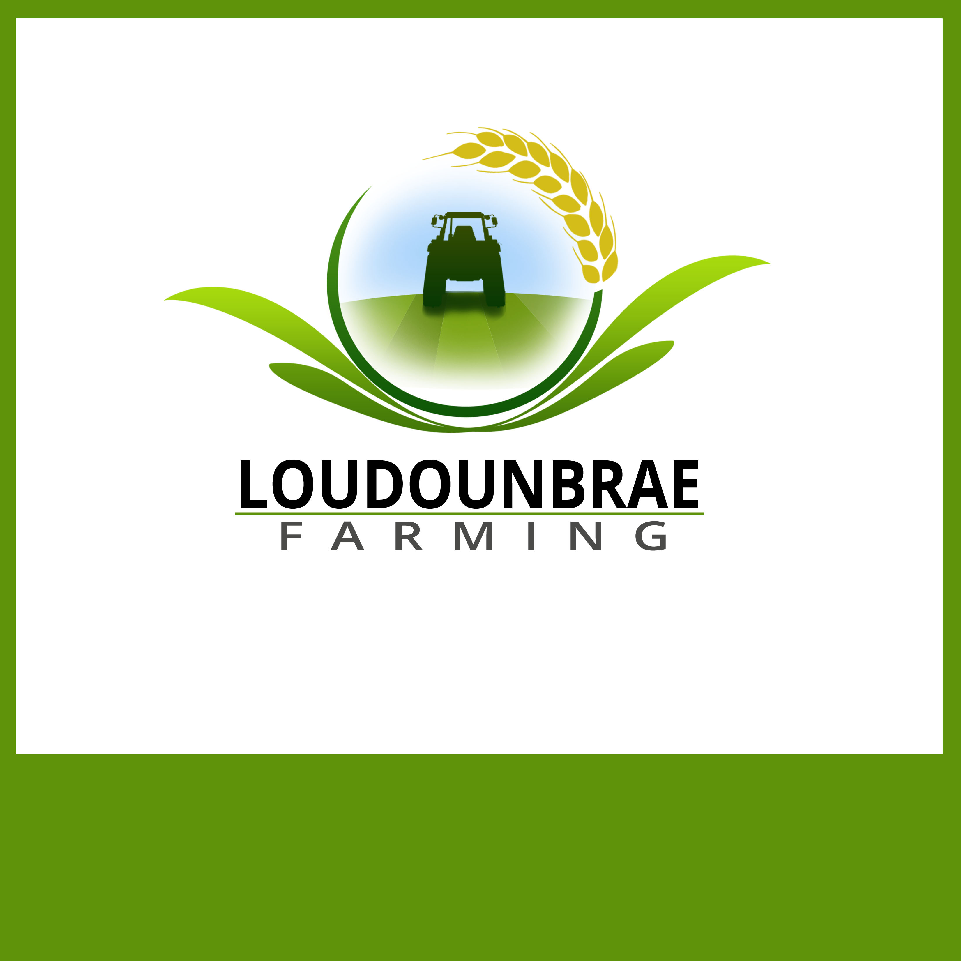 Logo Design by Allan Esclamado - Entry No. 82 in the Logo Design Contest Creative Logo Design for Loudounbrae Farming.