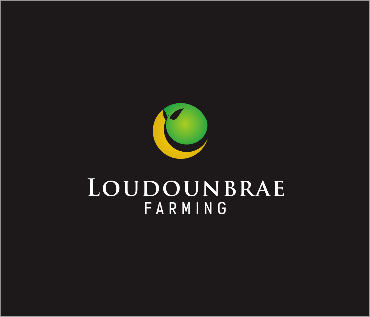 Logo Design by Armada Jamaluddin - Entry No. 84 in the Logo Design Contest Creative Logo Design for Loudounbrae Farming.