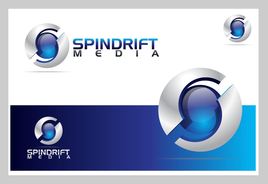 Logo Design by Private User - Entry No. 9 in the Logo Design Contest Inspiring Logo Design for Spindrift Media.