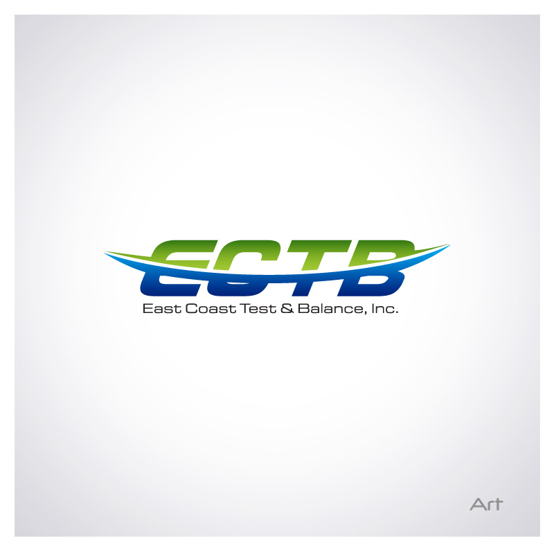 Logo Design by Puspita Wahyuni - Entry No. 29 in the Logo Design Contest Logo Design for East Coast Test & Balance, Inc. (ECTB).