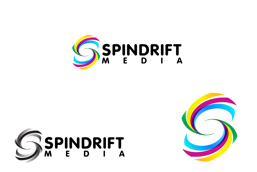 Logo Design by Private User - Entry No. 10 in the Logo Design Contest Inspiring Logo Design for Spindrift Media.