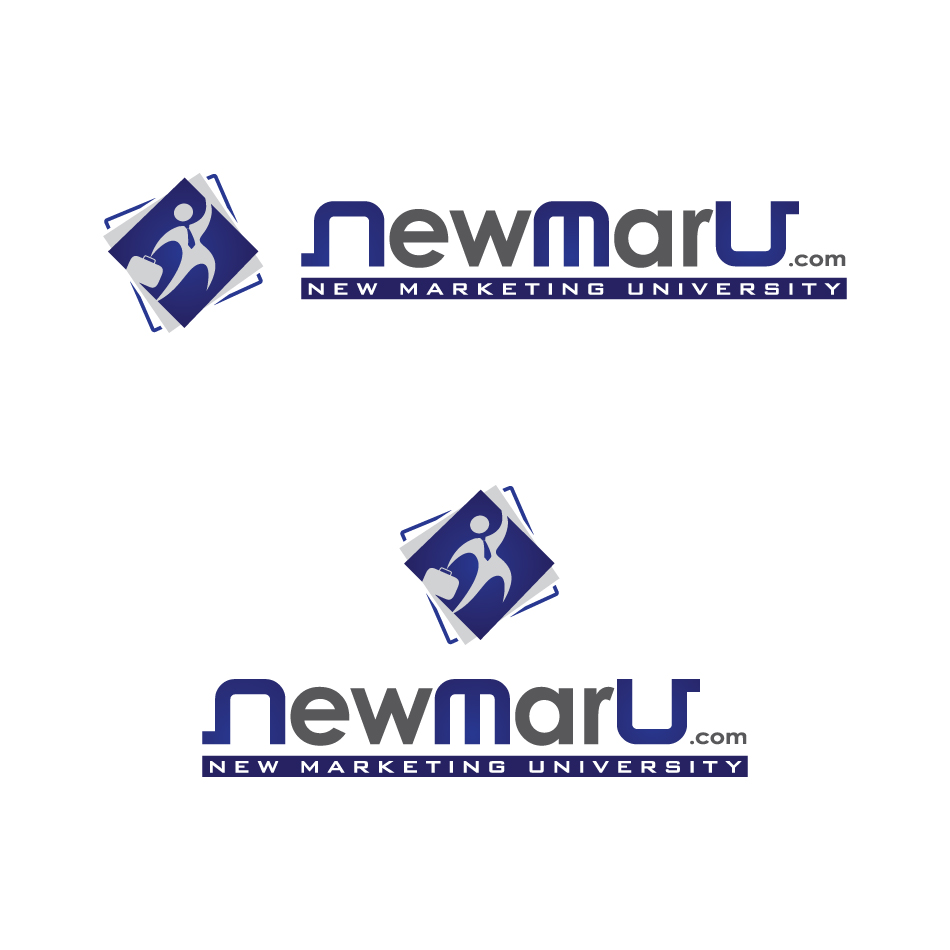 Logo Design by a-m-b-i-e-n-t - Entry No. 135 in the Logo Design Contest NewMarU.com (New Marketing University).