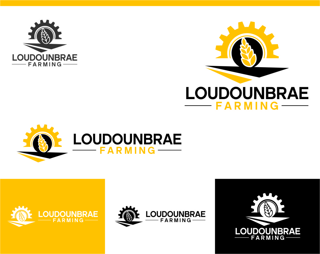 Logo Design by RoSyid Rono-Rene On Java - Entry No. 90 in the Logo Design Contest Creative Logo Design for Loudounbrae Farming.