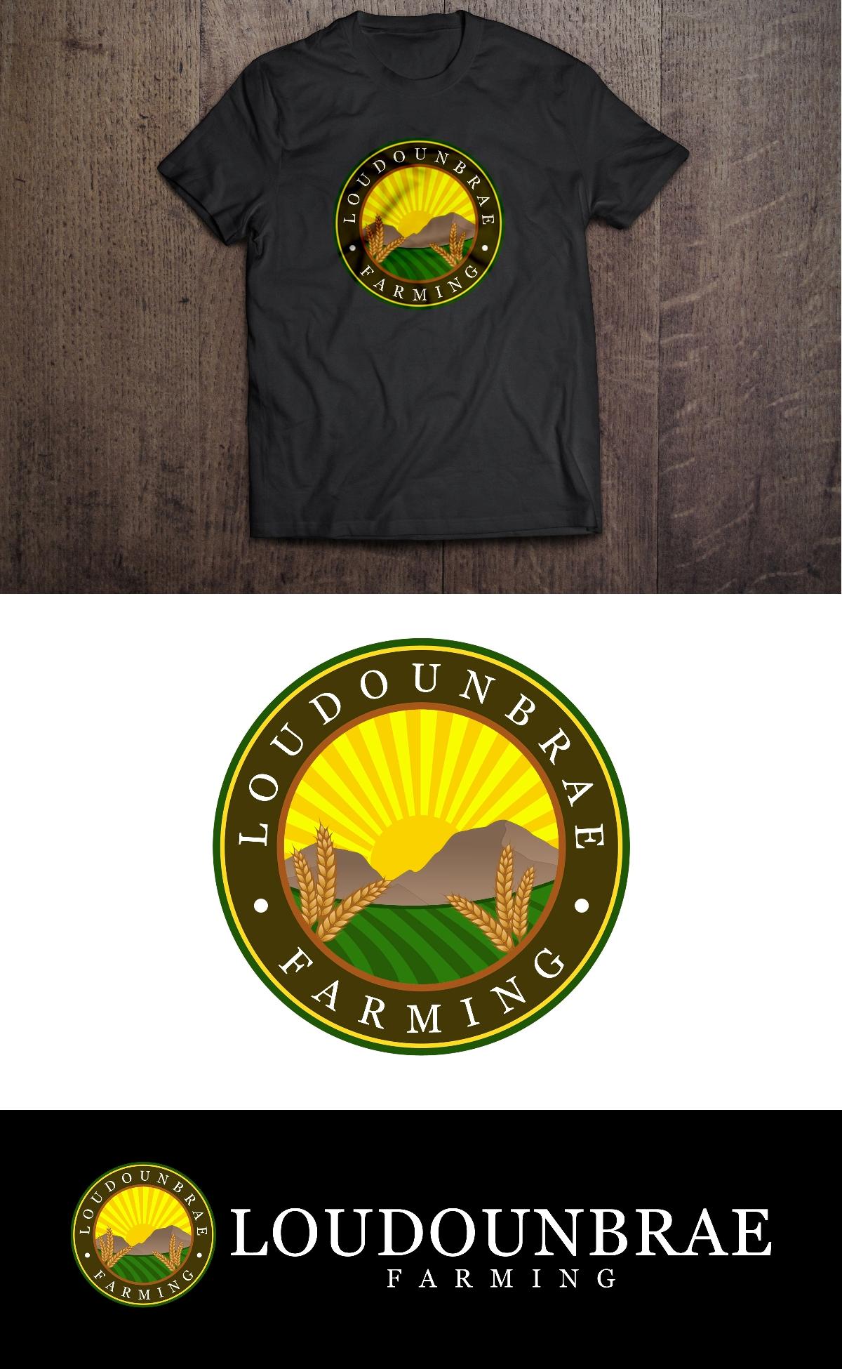 Logo Design by Juan_Kata - Entry No. 94 in the Logo Design Contest Creative Logo Design for Loudounbrae Farming.