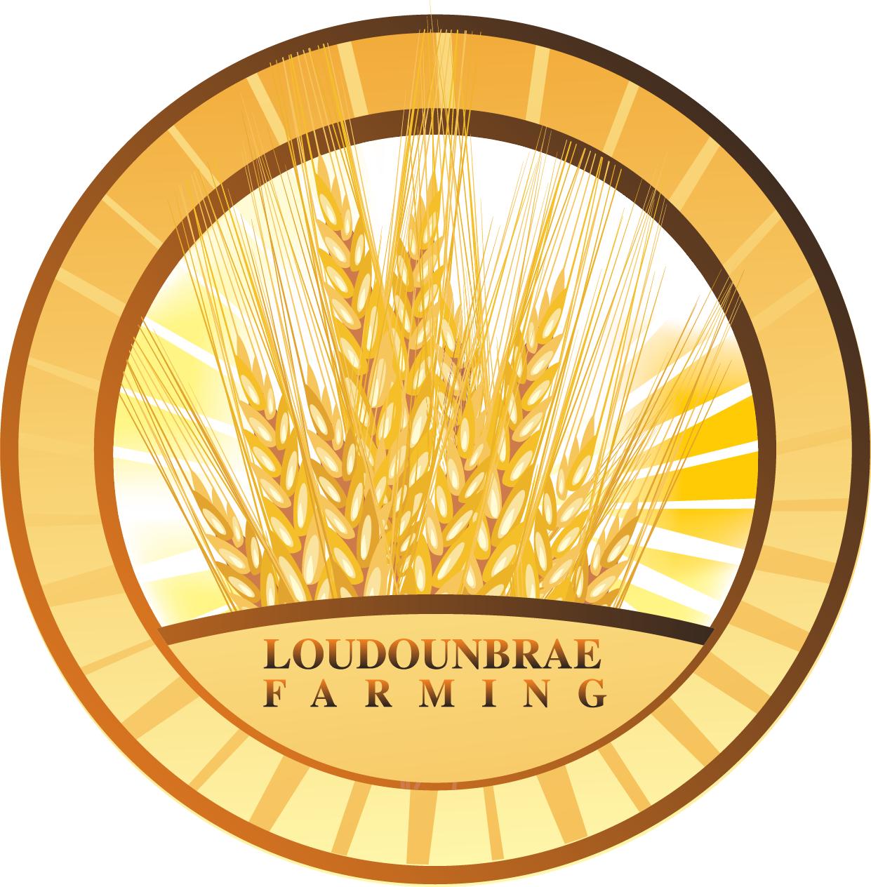 Logo Design by brands_in - Entry No. 98 in the Logo Design Contest Creative Logo Design for Loudounbrae Farming.
