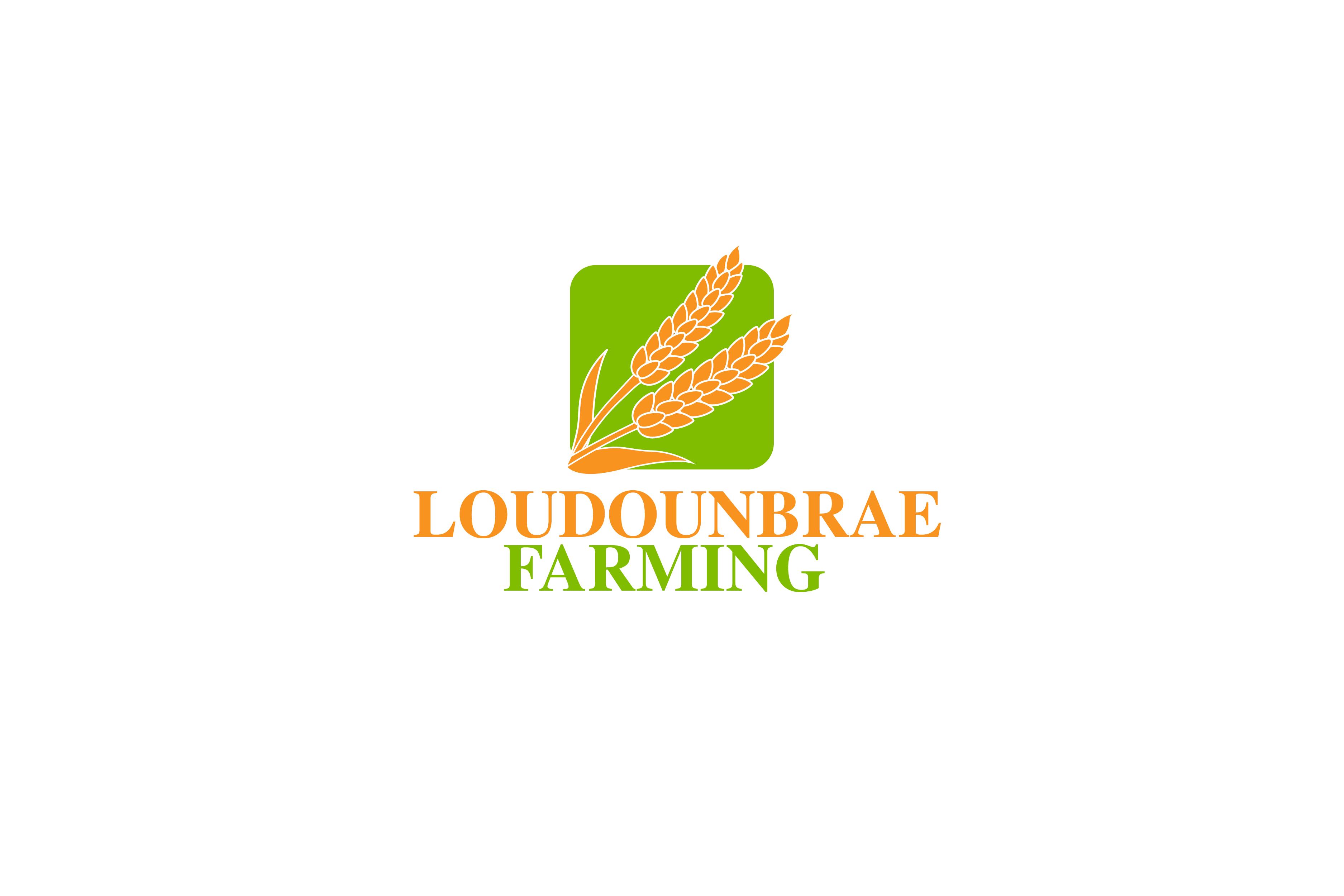 Logo Design by Private User - Entry No. 100 in the Logo Design Contest Creative Logo Design for Loudounbrae Farming.