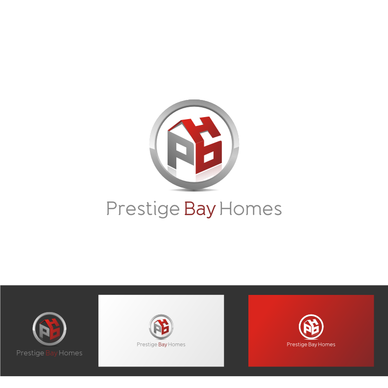 Logo Design by graphicleaf - Entry No. 177 in the Logo Design Contest Imaginative Logo Design for Prestige Bay Homes.