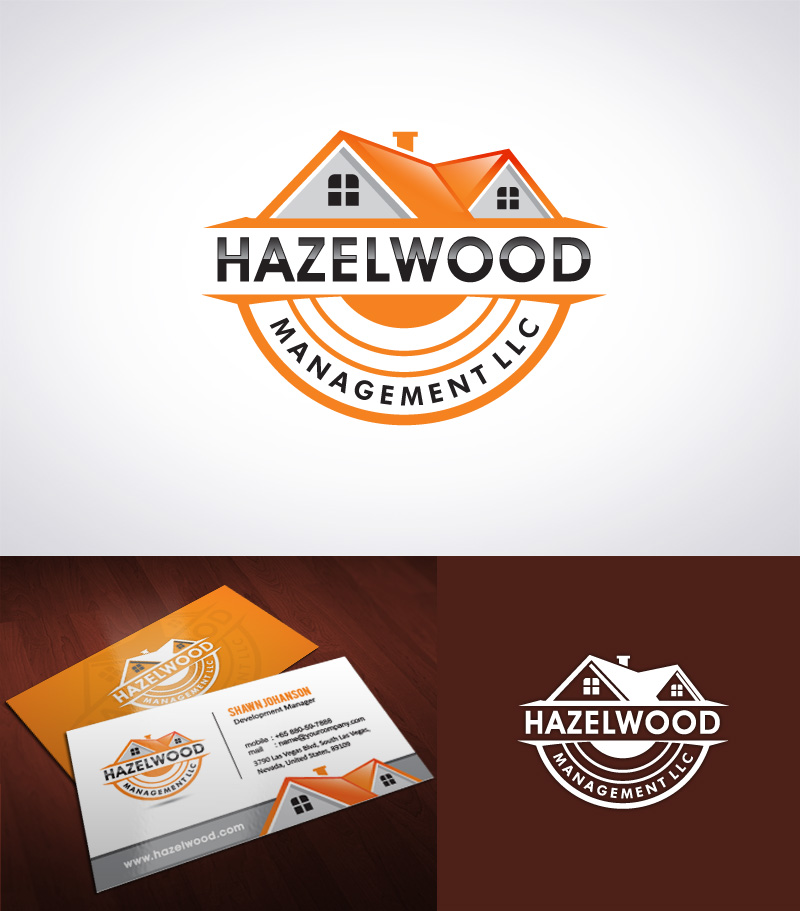 Logo Design by Puspita Wahyuni - Entry No. 39 in the Logo Design Contest Hazelwood Management LLC Logo Design.