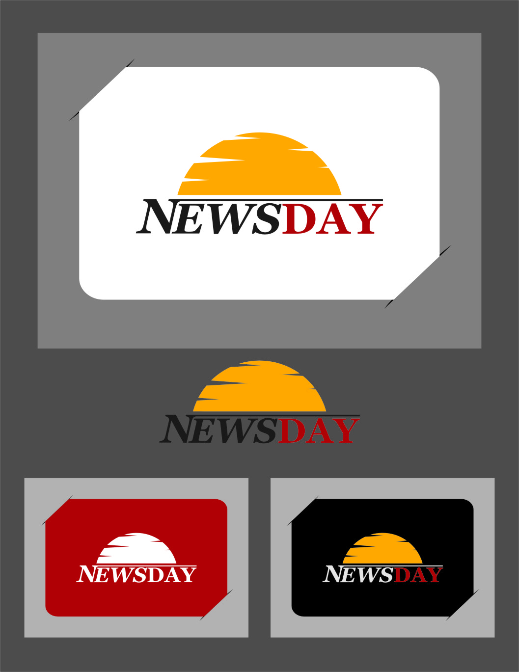 Logo Design by Ngepet_art - Entry No. 7 in the Logo Design Contest Artistic Logo Design for Newsday.
