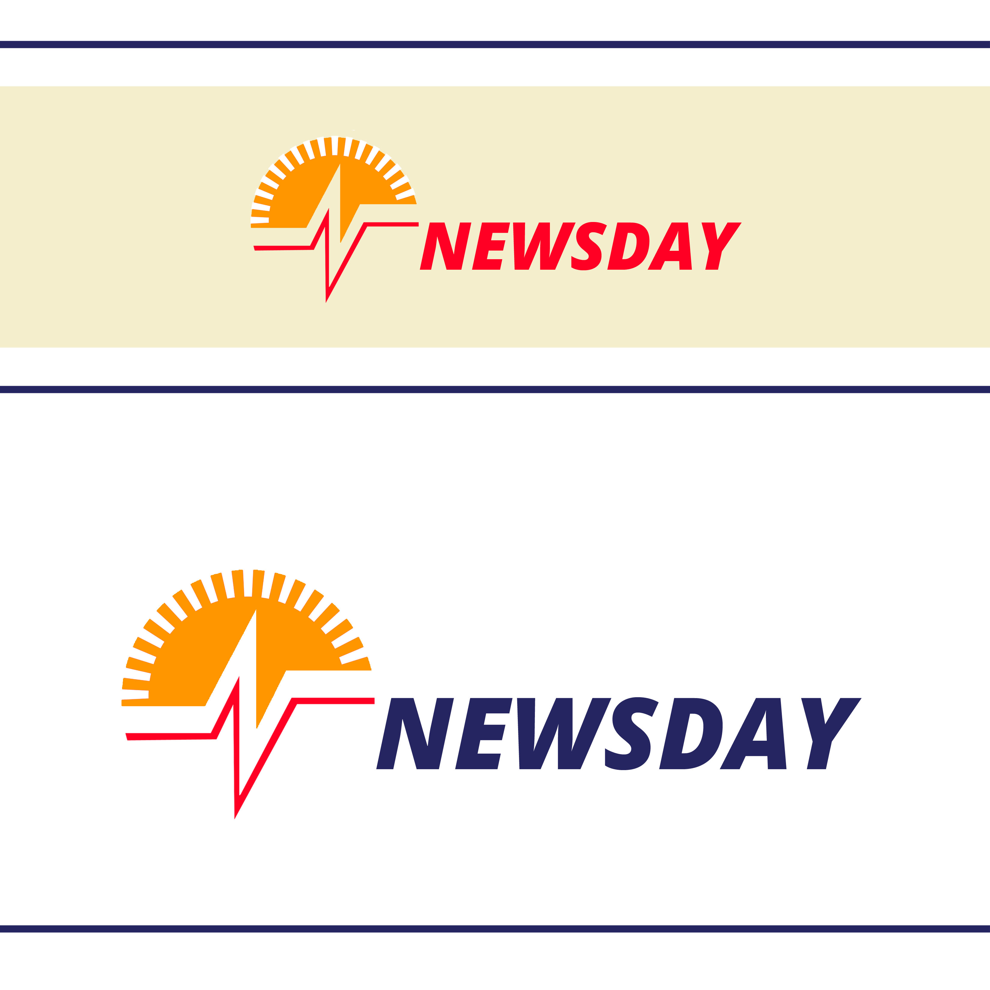 Logo Design by Allan Esclamado - Entry No. 11 in the Logo Design Contest Artistic Logo Design for Newsday.