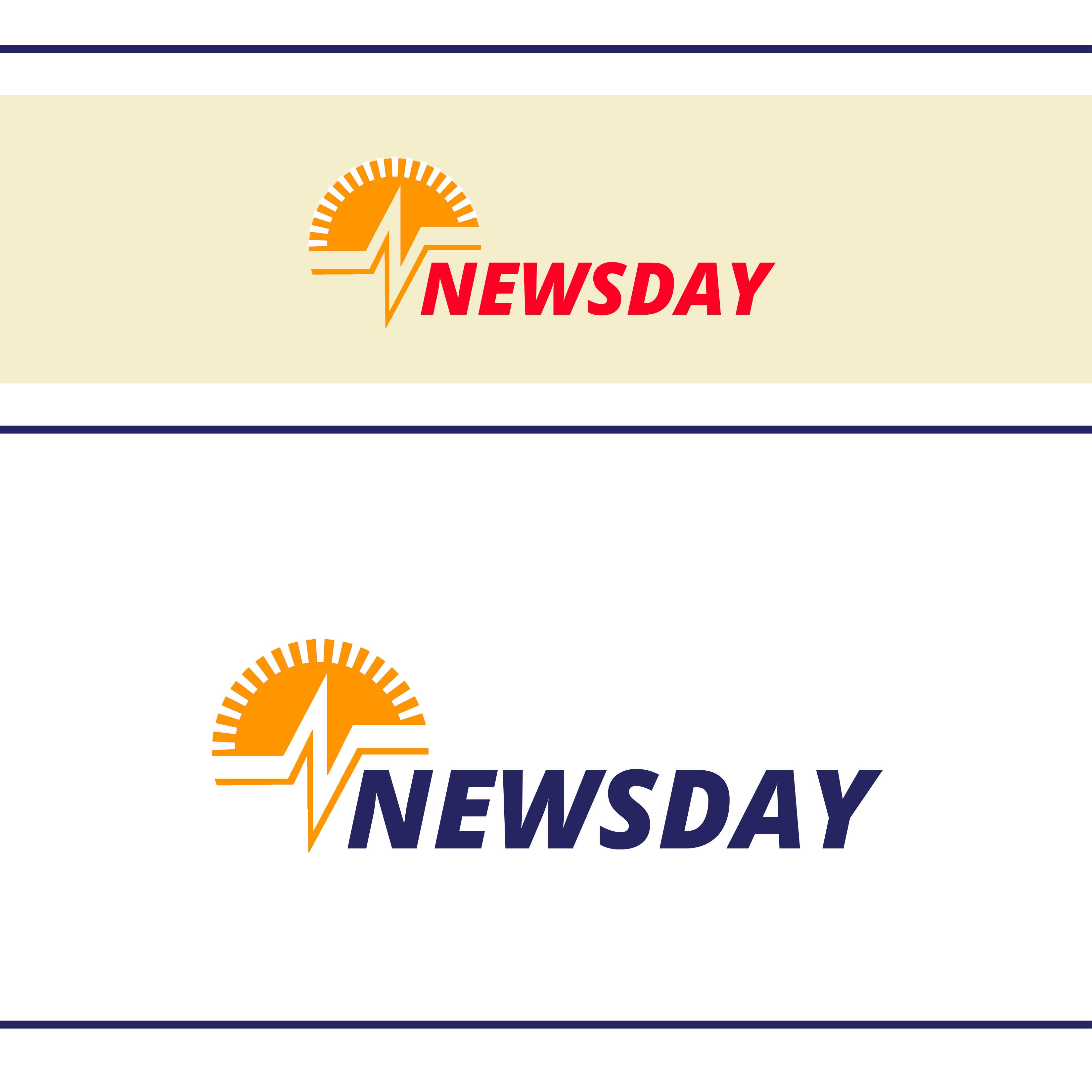 Logo Design by Allan Esclamado - Entry No. 12 in the Logo Design Contest Artistic Logo Design for Newsday.
