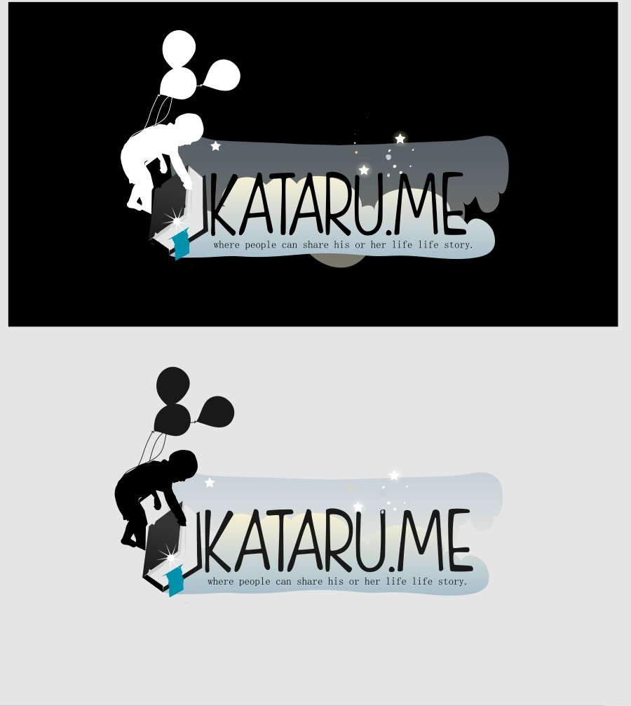 Logo Design by Private User - Entry No. 48 in the Logo Design Contest Inspiring Logo Design for KATARU.ME.