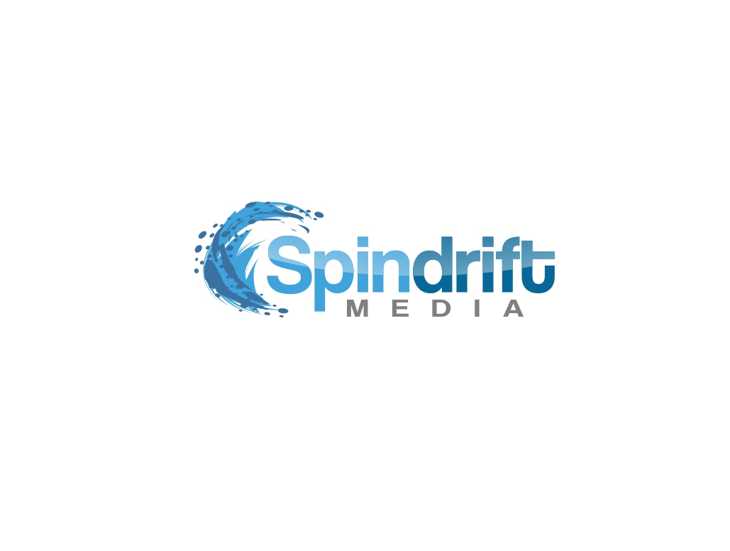 Logo Design by Chris Frederickson - Entry No. 13 in the Logo Design Contest Inspiring Logo Design for Spindrift Media.