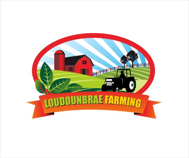 Logo Design by ronny - Entry No. 105 in the Logo Design Contest Creative Logo Design for Loudounbrae Farming.