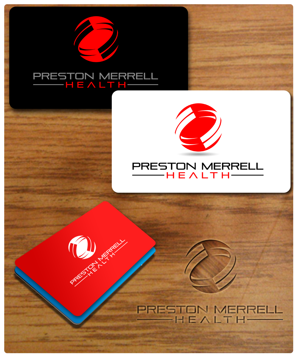 Logo Design by Robert Turla - Entry No. 158 in the Logo Design Contest Creative Logo Design for Preston Merrell Health.