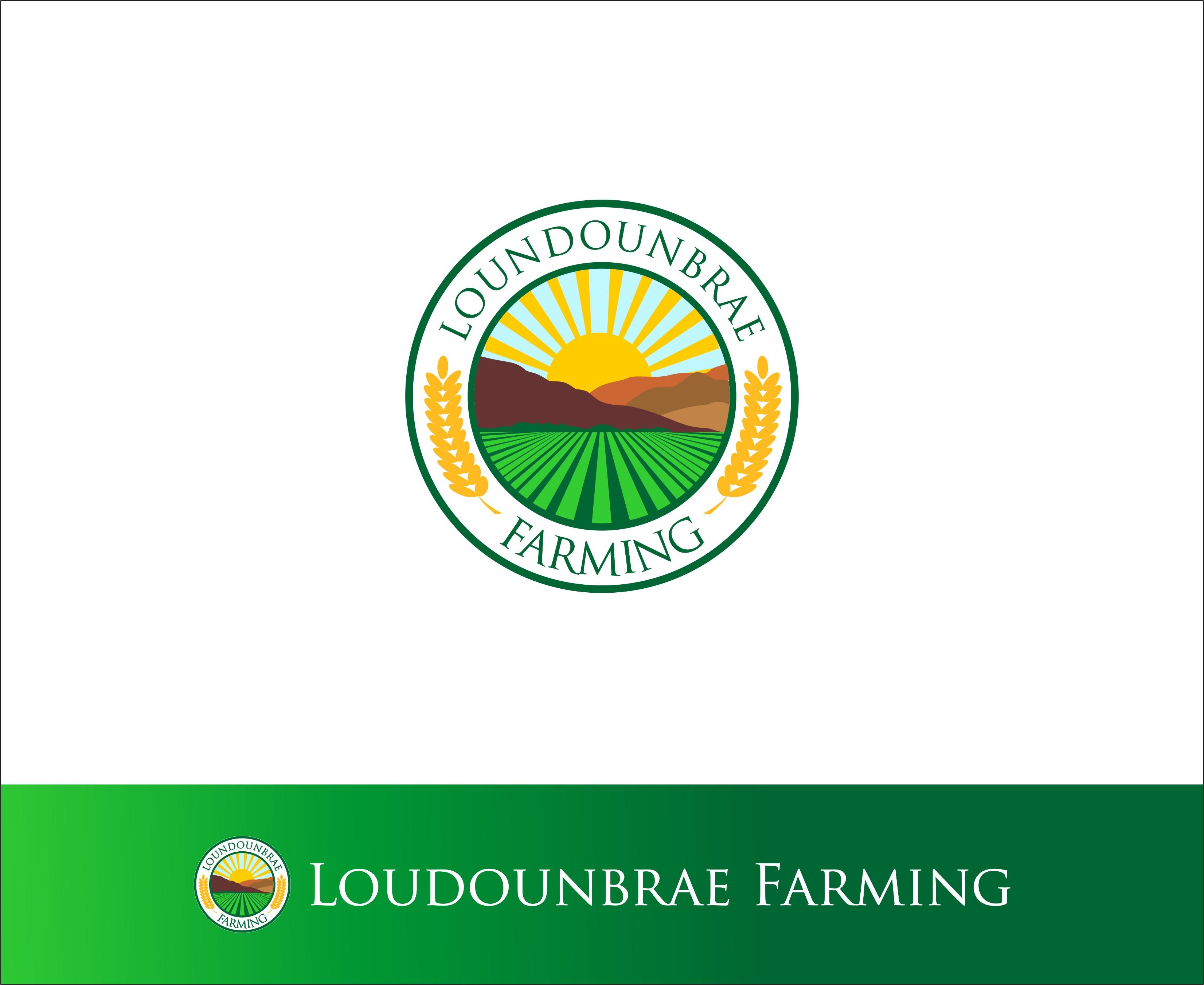 Logo Design by Mhon_Rose - Entry No. 114 in the Logo Design Contest Creative Logo Design for Loudounbrae Farming.