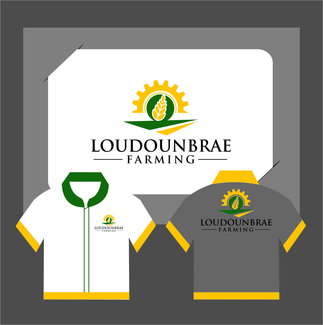 Logo Design by RasYa Muhammad Athaya - Entry No. 115 in the Logo Design Contest Creative Logo Design for Loudounbrae Farming.