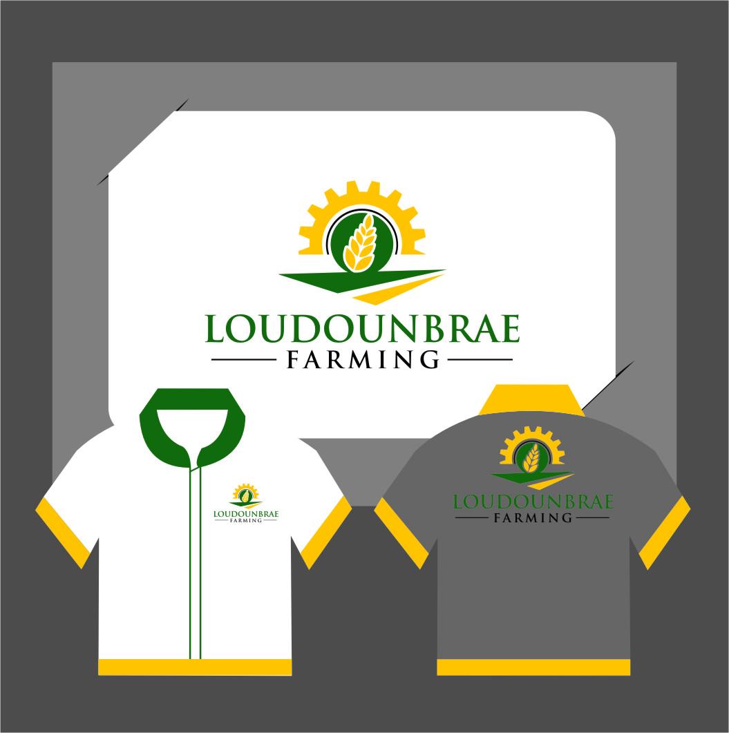 Logo Design by RoSyid Rono-Rene On Java - Entry No. 117 in the Logo Design Contest Creative Logo Design for Loudounbrae Farming.