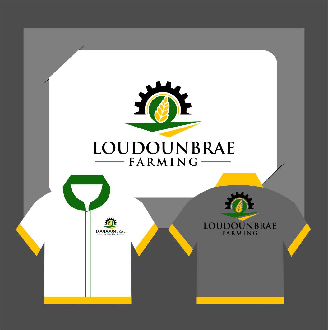 Logo Design by Ngepet_art - Entry No. 118 in the Logo Design Contest Creative Logo Design for Loudounbrae Farming.