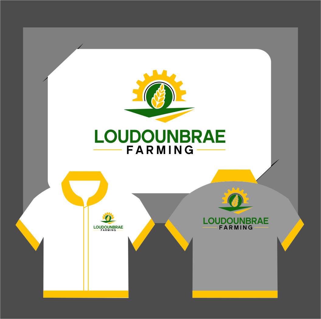 Logo Design by RasYa Muhammad Athaya - Entry No. 119 in the Logo Design Contest Creative Logo Design for Loudounbrae Farming.