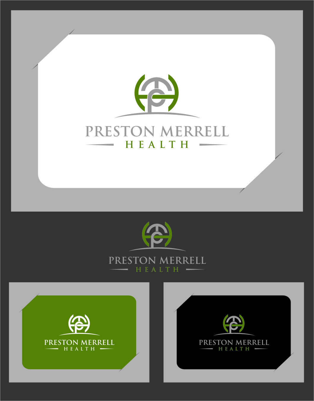 Logo Design by Ngepet_art - Entry No. 168 in the Logo Design Contest Creative Logo Design for Preston Merrell Health.