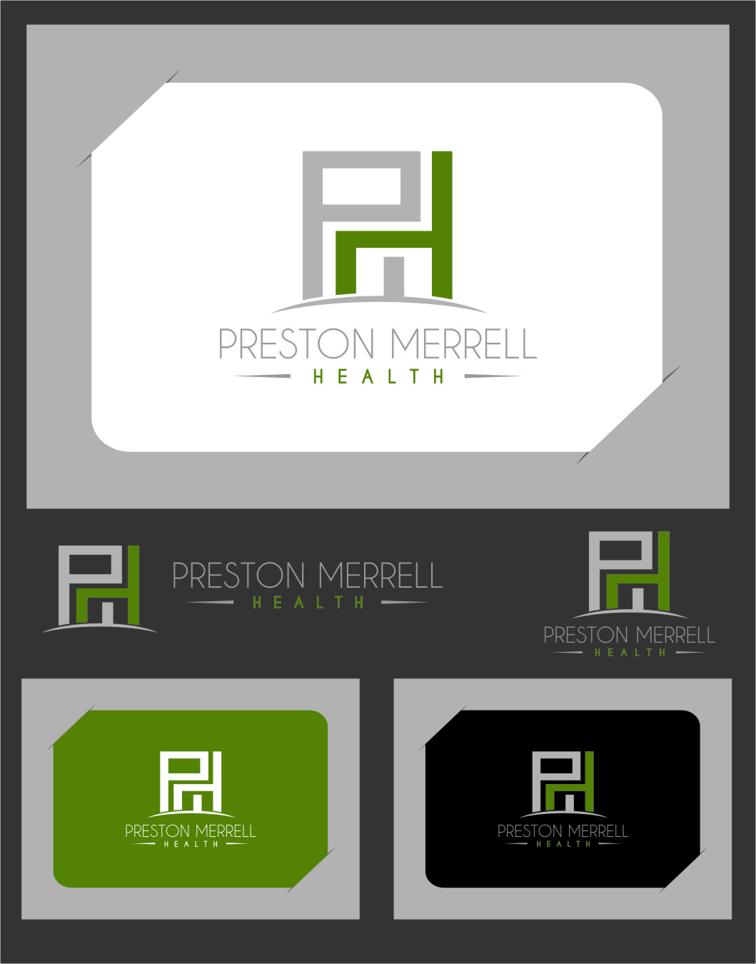 Logo Design by Ngepet_art - Entry No. 169 in the Logo Design Contest Creative Logo Design for Preston Merrell Health.