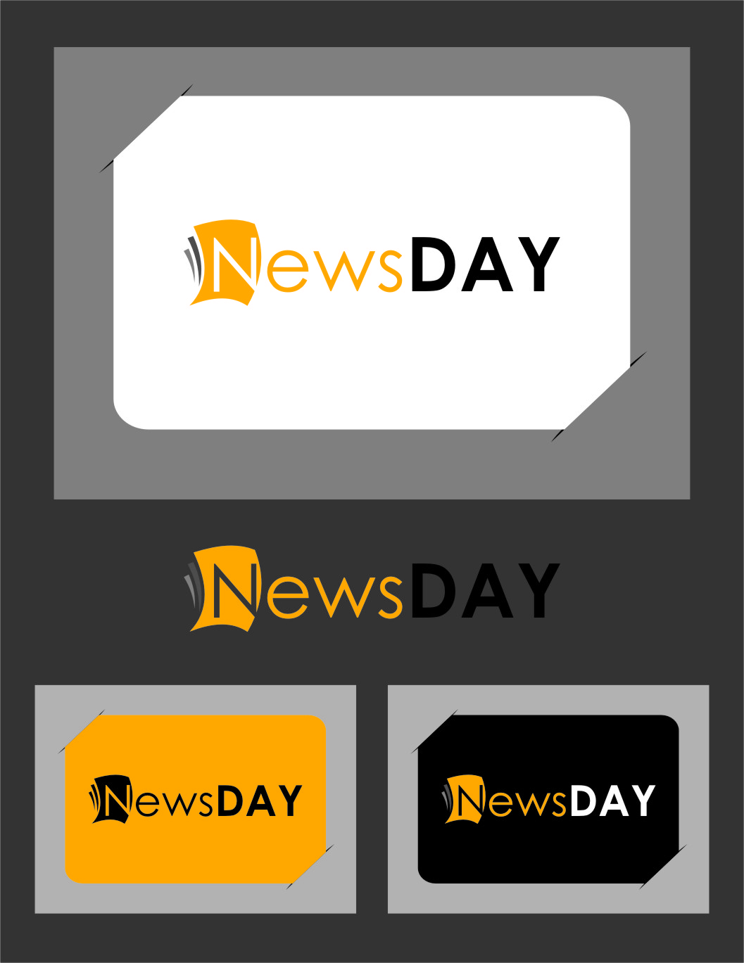 Logo Design by RoSyid Rono-Rene On Java - Entry No. 31 in the Logo Design Contest Artistic Logo Design for Newsday.