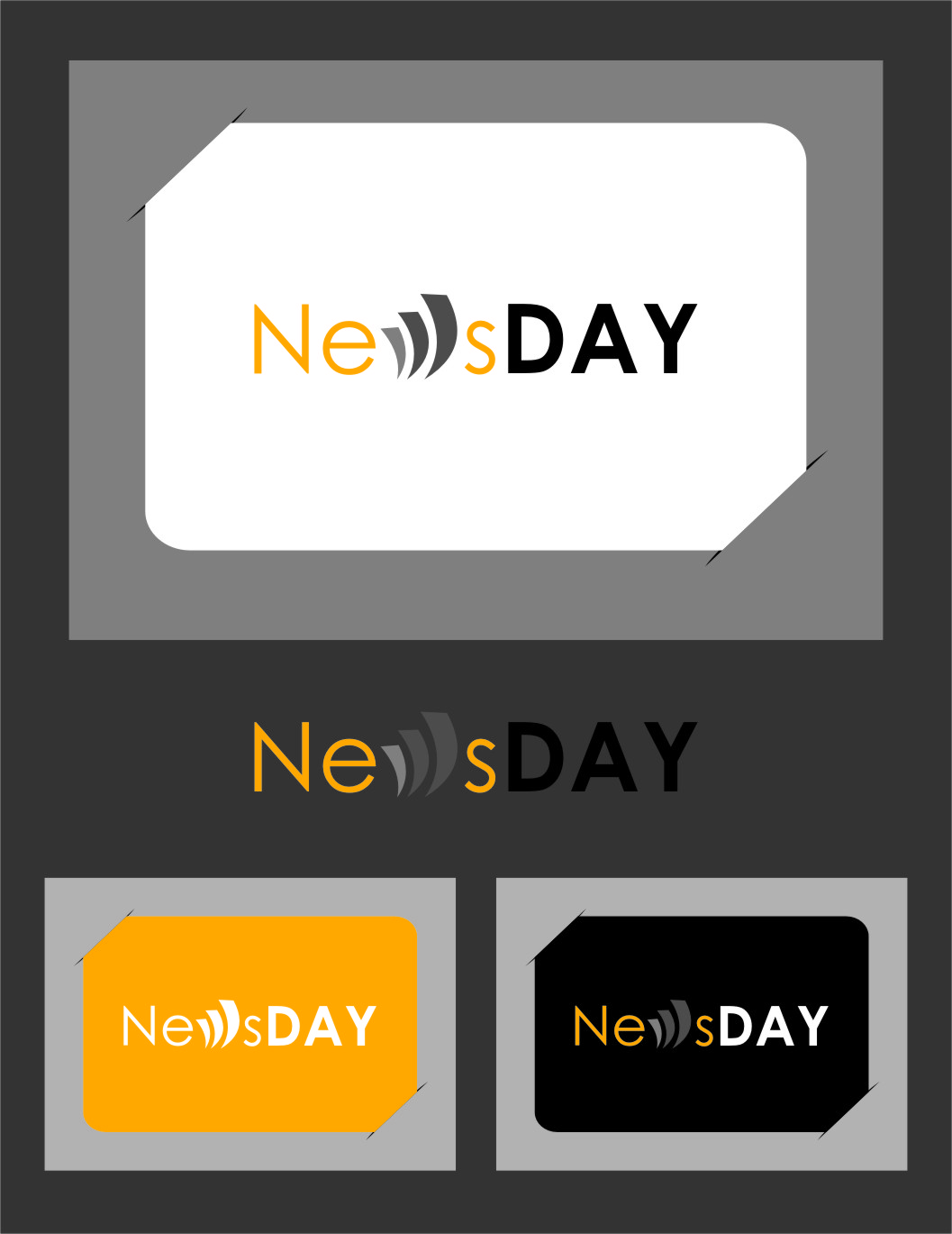 Logo Design by Ngepet_art - Entry No. 32 in the Logo Design Contest Artistic Logo Design for Newsday.