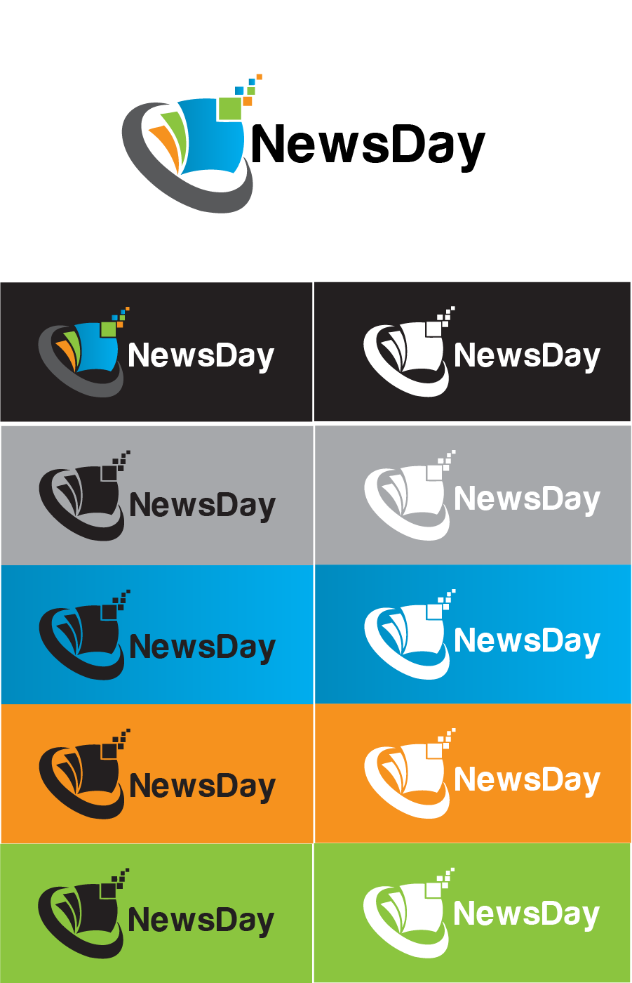 Logo Design by Private User - Entry No. 33 in the Logo Design Contest Artistic Logo Design for Newsday.