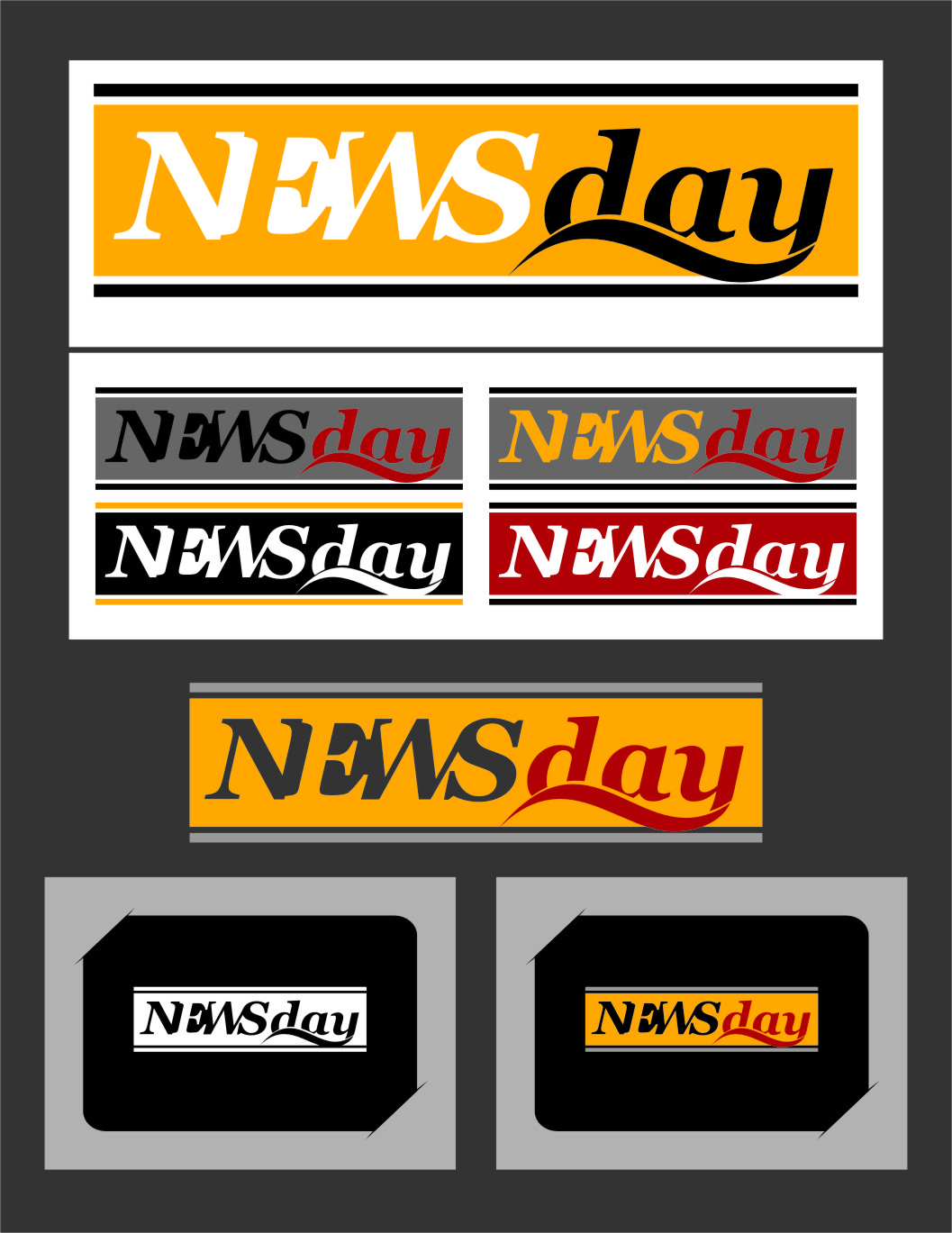 Logo Design by Ngepet_art - Entry No. 37 in the Logo Design Contest Artistic Logo Design for Newsday.